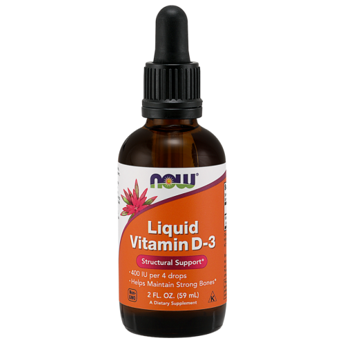 NOW Foods - Liquid Vitamin D3 - 400 IU - 59ml