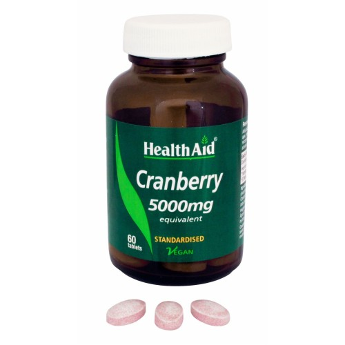 Health Aid - Cranberry Extract 5000mg