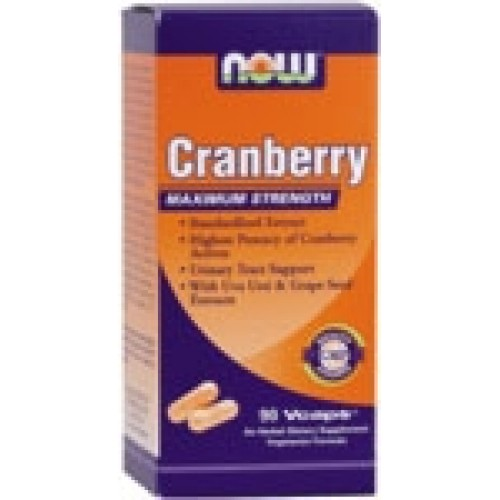 NOW Foods - Cranberry Maximum Strength With Uva Ursi Extract Συμπληρώματα Διατροφής