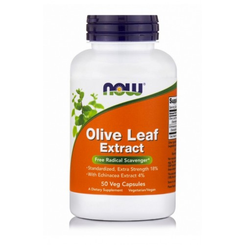 NOW Foods - Olive Leaf Extract Extra Strength - 50 Vcaps