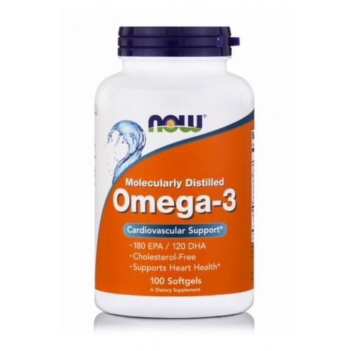 NOW Foods - Omega - 3 1000mg, 100 softgels