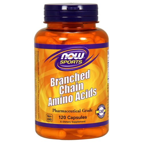 NOW Sports - BCAA Branched Chain Amino Acids, 120 caps