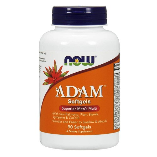NOW Foods - Adam Male Multi, 90 φυτοκάψουλες